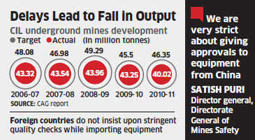 Foreign mining equipment companies unhappy with India's lengthy bidding process