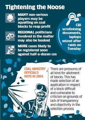 Coalgate: CBI to raid more companies with doubtful credentials
