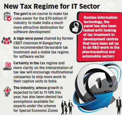Tax rules to be relaxed for IT sector, move to attract more business from MNCs