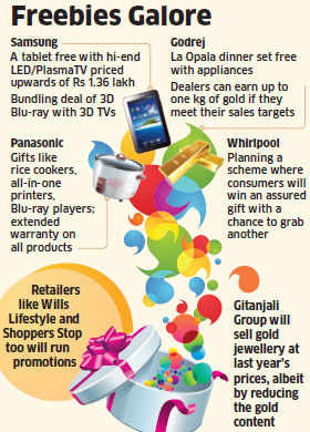 Samsung, Panasonic, Godrej and others to offer free gifts, discounts this Diwali to buck slowdown