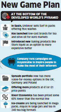Unilever takes HUL strategies like small packs, cheaper variants to developed markets