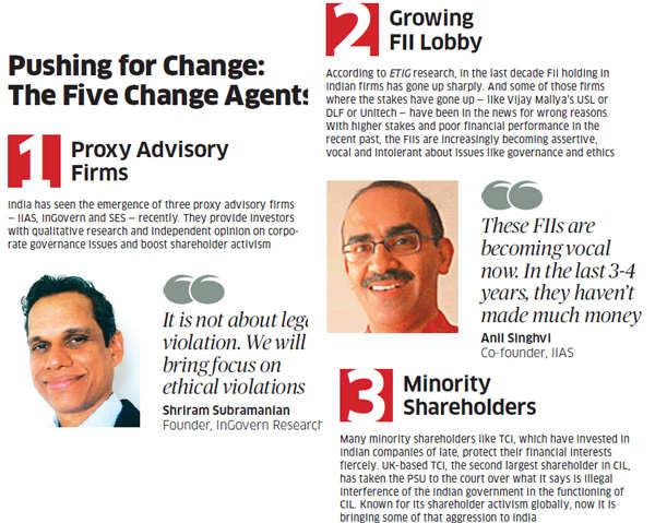 Pushing for change