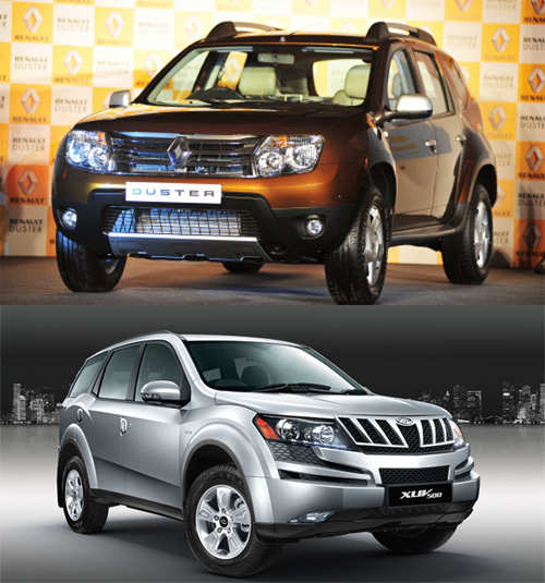 renault duster versus mahindra xuv 500 comparison the economic times. Black Bedroom Furniture Sets. Home Design Ideas