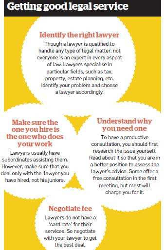 Hiring a lawyer and taking legal advice can help cut financial losses