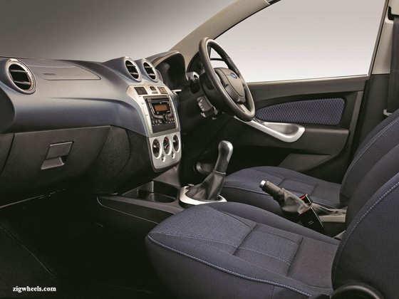 new Ford Figo interiors