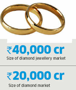 Diamonds becoming a mass market luxury, emerge as investment alternative to gold