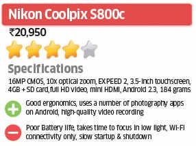 Nikon Coolpix S800c: ET Review