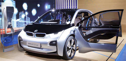 BMW i3 Concept electric car