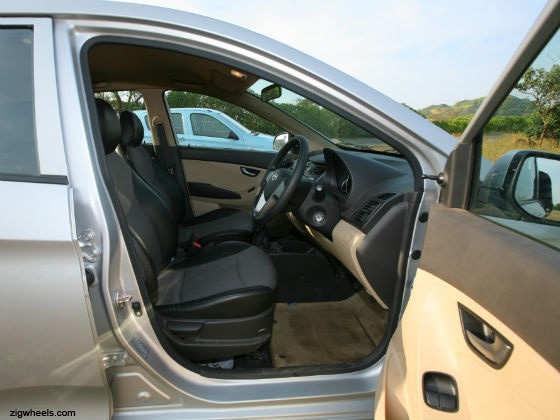 Hyundai Eon interior front