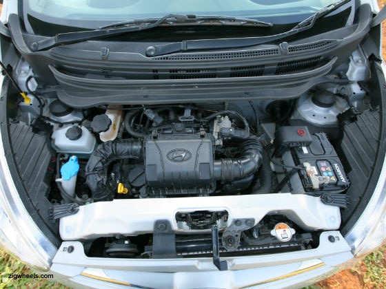 Hyundai Eon engine