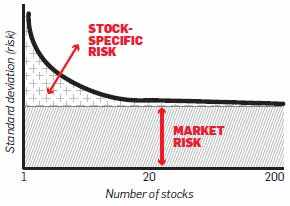 How many mutual funds and stocks you should invest in