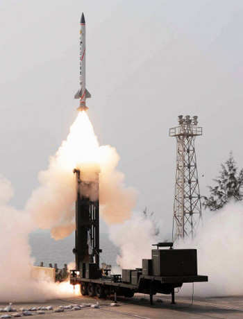 Advanced Air Defence (AAD) missile