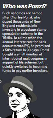 Who Was Ponzi