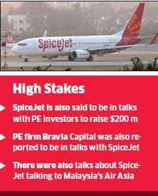 Jet Airways and SpiceJet stocks soar on stake sale buzz