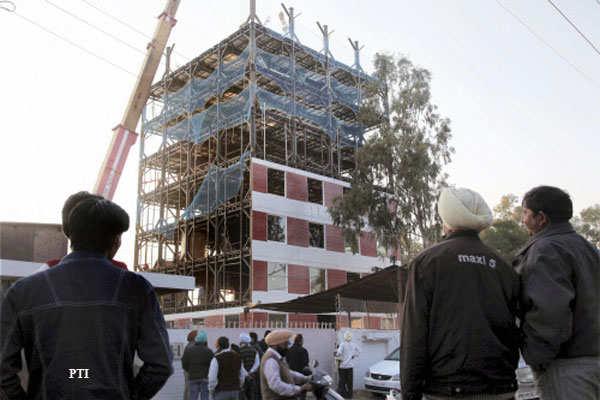 In 48 hours, entrepreneur sets up 10-floor building - The