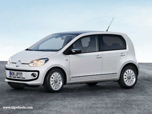 Volkswagen up! to be launched by mid-2013