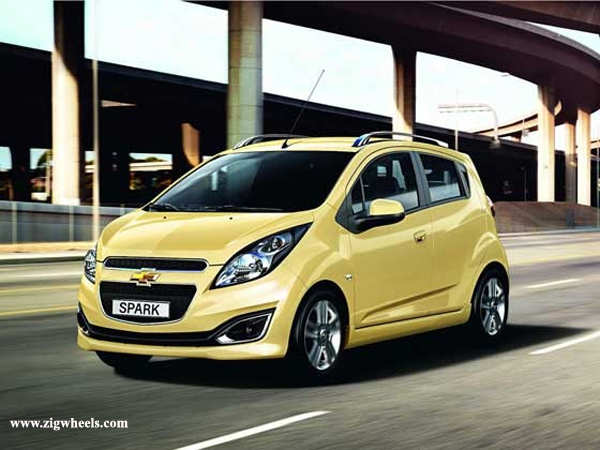 Face-lifted Chevrolet Beat coming in 2013