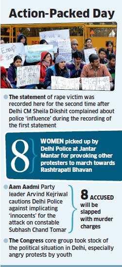 Delhi gang rape case: War of words break out between Sheila Dikshit and Delhi Police