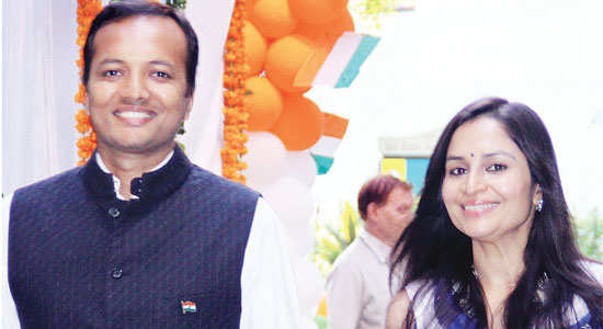 Naveen Jindal, chairman of Jindal Power & Steel, is married to Shalu, daughter of Oswal Green Tech's Abhey Oswal.