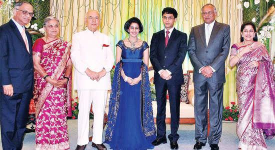 TVS Group's Venu Srinivasan is married to TAFE's Malika.