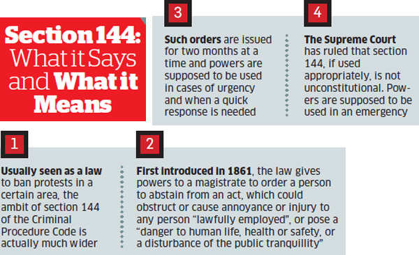 Dissecting Section 144: Have prohibitory orders become a