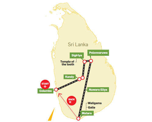 trip planner how to plan a trip to sri lanka the economic times