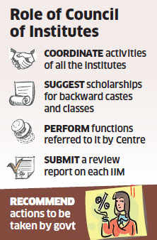 Govt plans to set up an umbrella authority to make 13 IIMs uniform under a new law