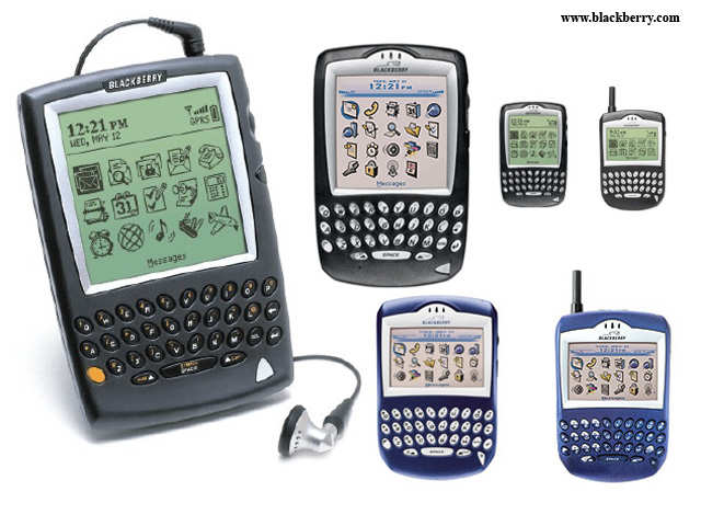 Important milestones in the history of RIM to BlackBerry transition