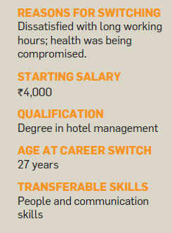 Career shift: How erratic timing in hotel industry prompted Cherian Binoy to switch to a BPO