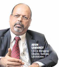 Arun Sawhney, CEO & MD, Ranbaxy