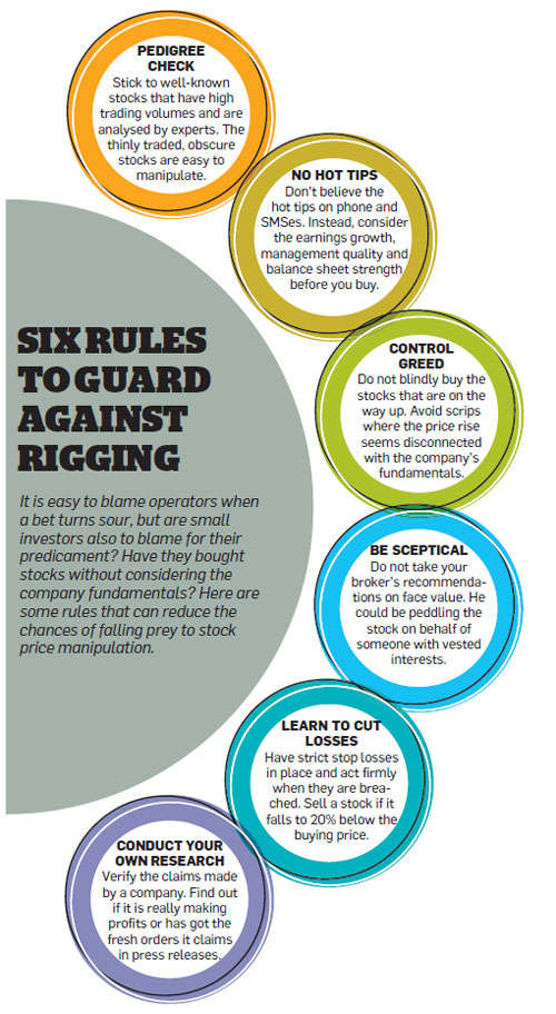 Six rules to guard against rigging