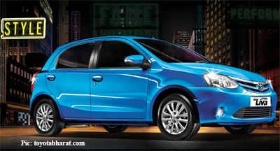 New Toyota Etios Liva