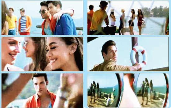 Set Wet deodorant commercial