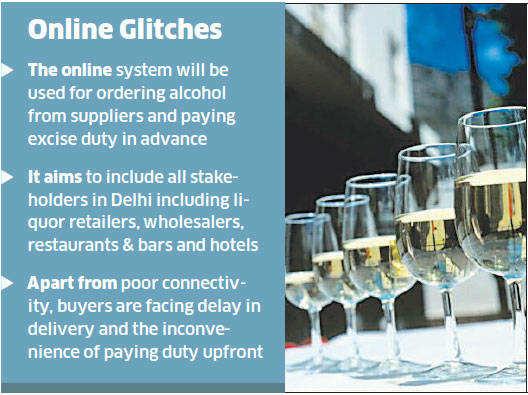 Delhi government defers project to shift liquor business online