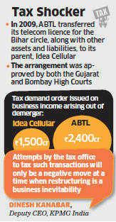 Aditya Birla group companies—Idea Cellular and Aditya Birla Telecom — have been asked to pay Rs3,900 crore in taxes.