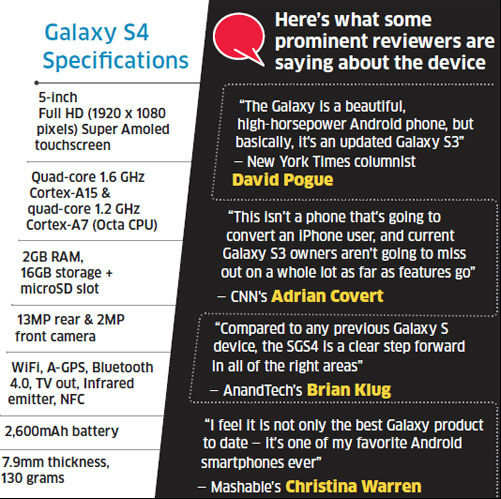Samsung Galaxy S4 doesn't mess with existing blockbuster formula