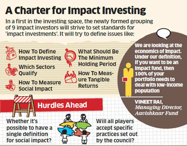 Now, a regulatory body to set norms for impact investment
