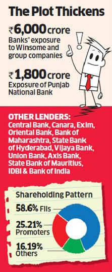 Indian banks send team to verify Winsome's defaulting 'overseas