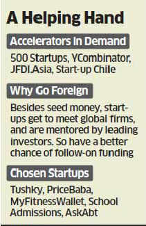 Indian technology startups prefer foreign cos for global exposure & assured funding