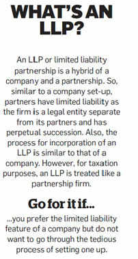 What is an LLP?