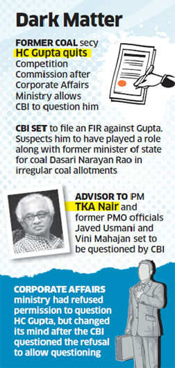 CBI to question ex-secy HC Gupta in coal case
