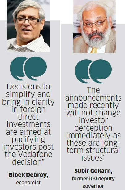 Is Chidambaram's five-point economic revival strategy a lame attempt to enthuse investors?