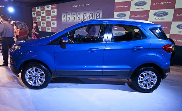 Ford EcoSport SUV launched at a starting price of Rs 5.59 lakh