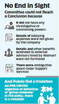 Bribery probe against Walmart inconclusive, but no clean chit to US retailer