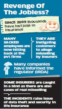 Insurance firms face guerrilla backlash from sacked employees with sensitive information
