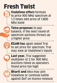 Vodafone offers to pay Rs 4000 crore for licence extension in 3 key circles