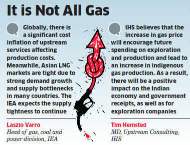 IEA expects India's new gas pricing regime to boost investment in exploration and production, which will enhance energy security and help consumers.