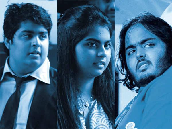 Akash Ambani & Anant Ambani