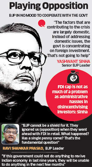 BJP unlikely to support proposal to raise FDI in insurance to 49%