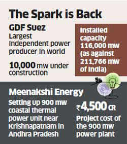 GDF Suez eyes Hyderabad power plant, marks return of foreign interest in power sector